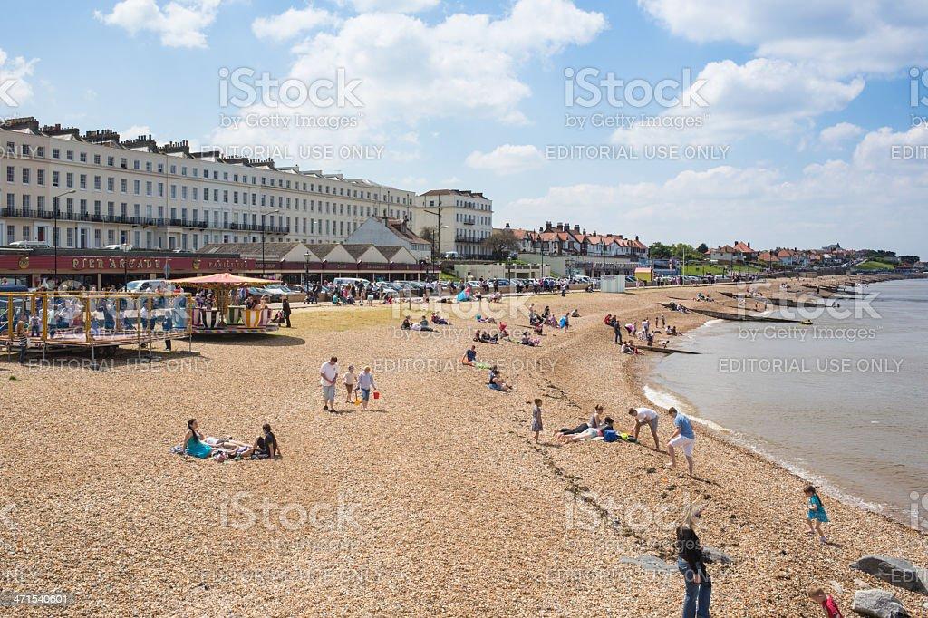 Herne Bay, Kent, UK royalty-free stock photo