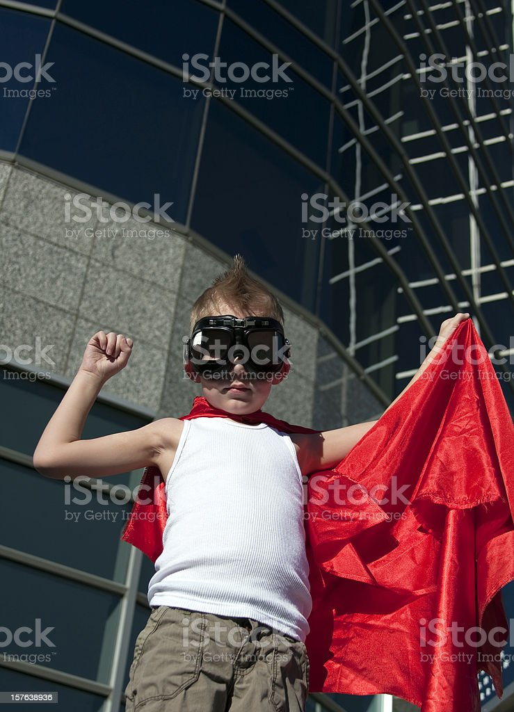 Hero Boy royalty-free stock photo