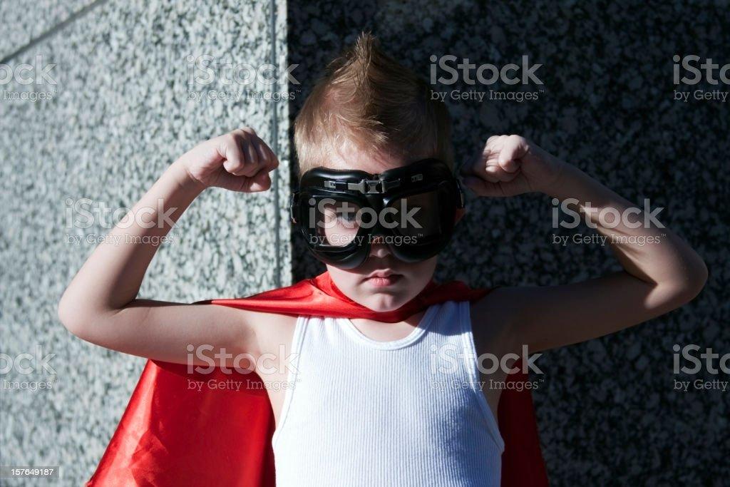 Hero Boy royalty-free stock photo