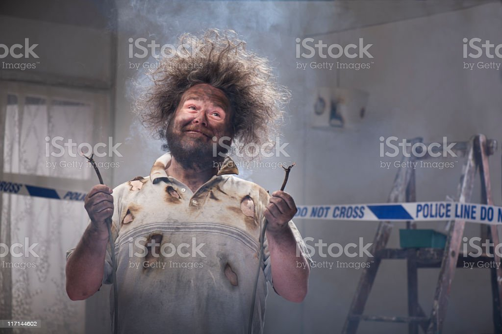 DIY Hero stock photo