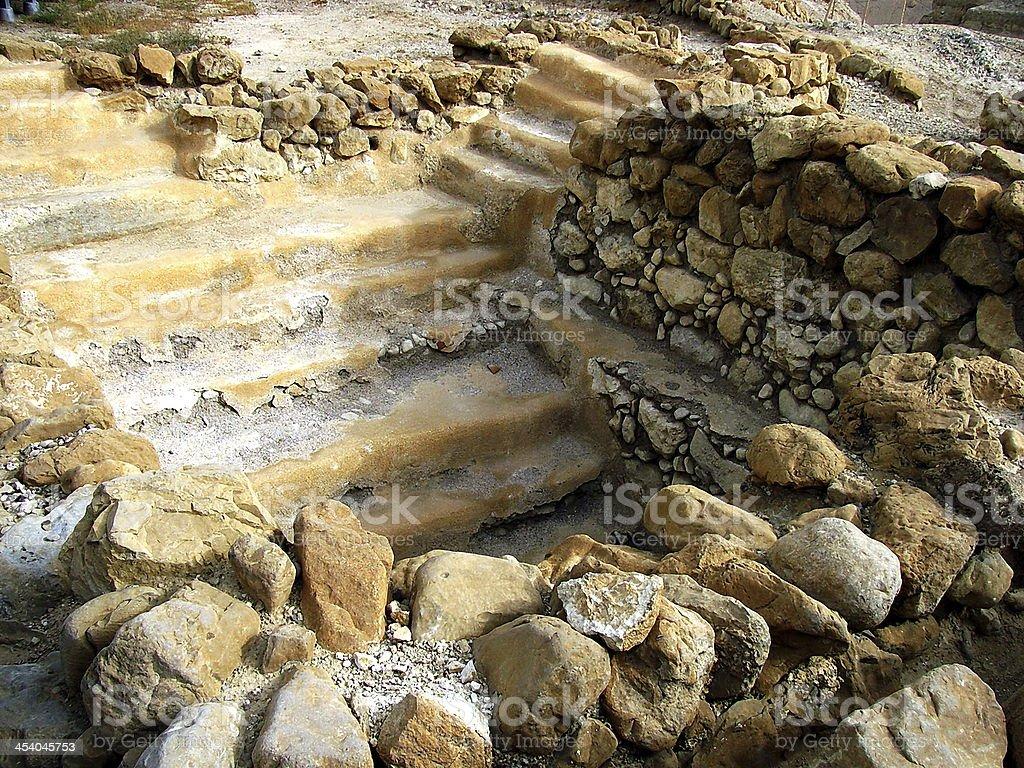 Herodium or Herodion ruins royalty-free stock photo