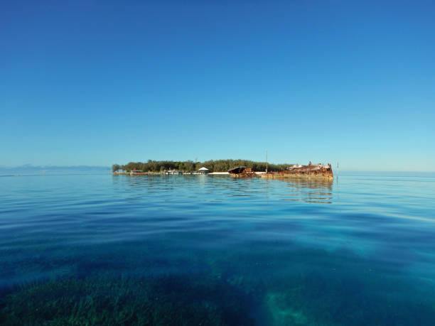 Heron Island stock photo