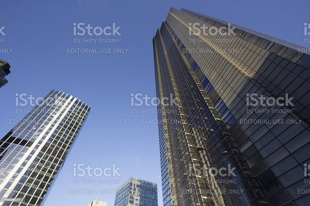 Heron Tower in London, England royalty-free stock photo