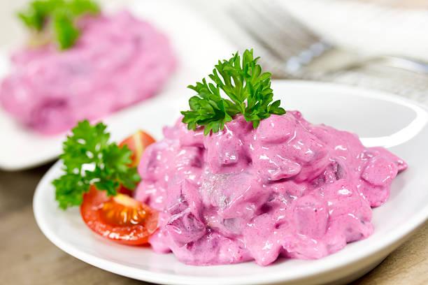 Hering-Salat – Foto