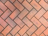 Herringbone Brick pavers background
