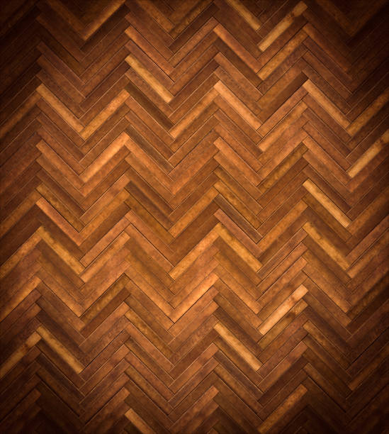 herringbone parquet texture stock photo