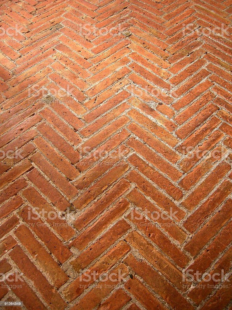 Herringbone Pattern stock photo