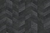 Herringbone pattern surface classic style stone paving, seamless texture map.