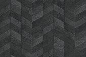 Herringbone pattern surface classic style stone paving, seamless texture map.