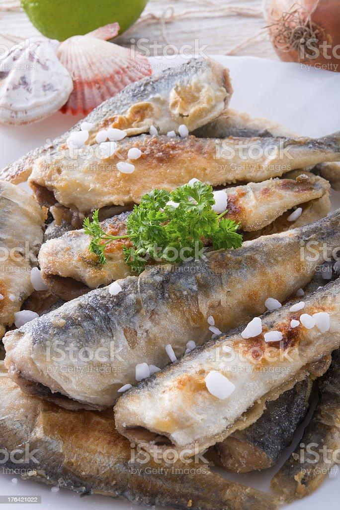 herrings royalty-free stock photo