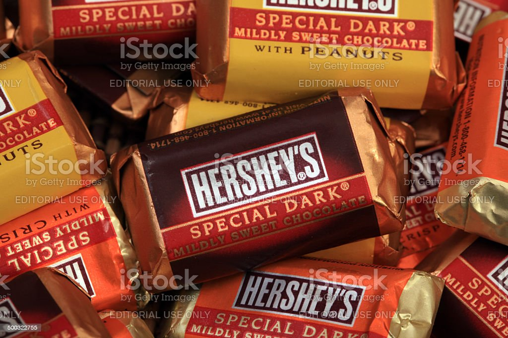 Hershey's Candy stock photo