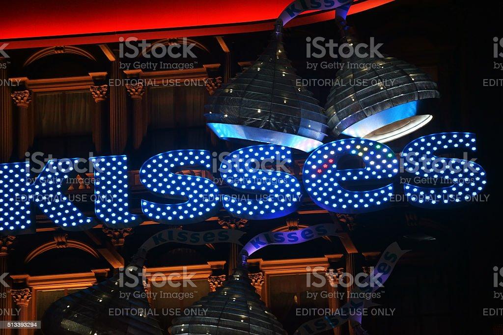 Hershey's Chocolate World Las Vegas stock photo