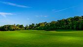 Aerial View of Golf Course in La Quinta California