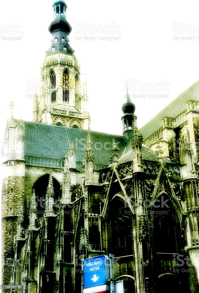 Hertogenbosch Cathedral stock photo