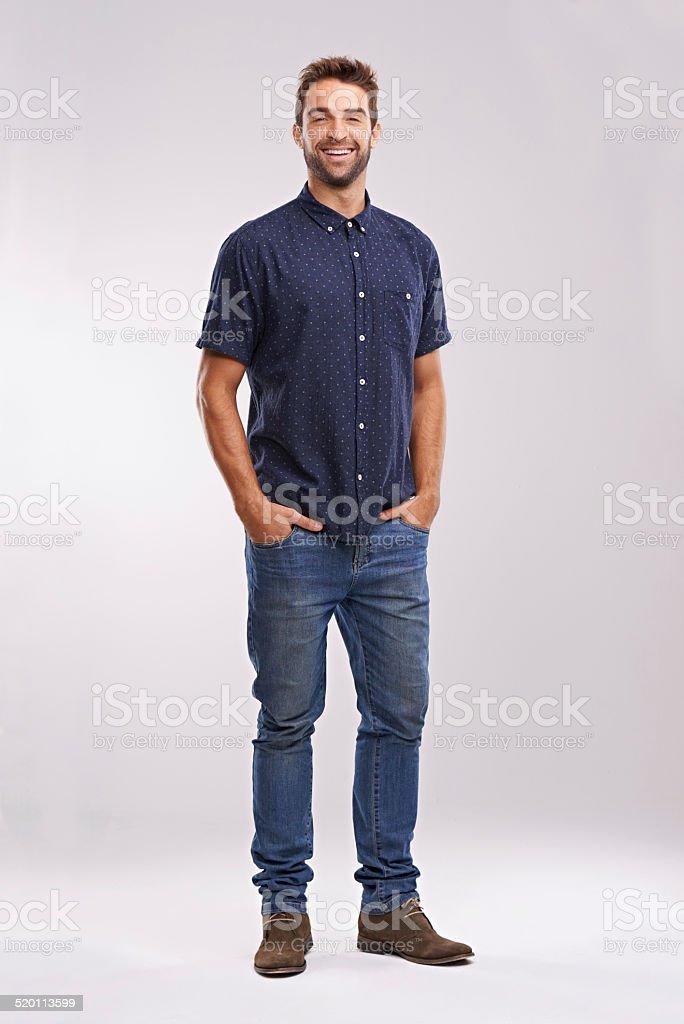 He's a charmer stock photo