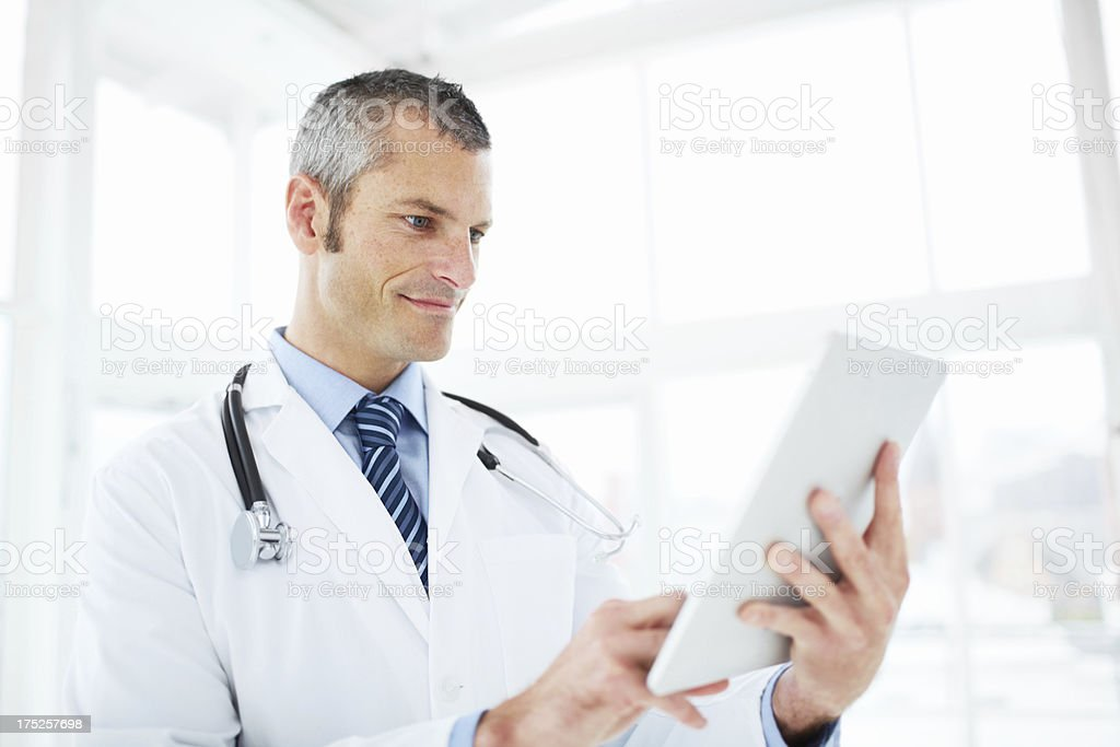 He's a great doctor royalty-free stock photo