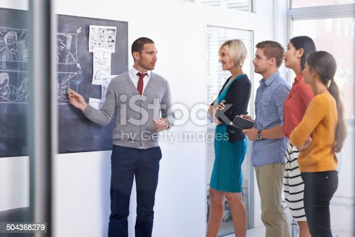 istock He's a leader they can look up to 504368279