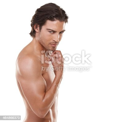 834639402istockphoto He's a manly man! 464866370