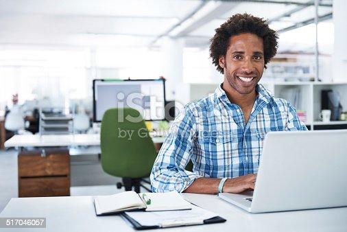 538177146 istock photo He's a model employee 517046057