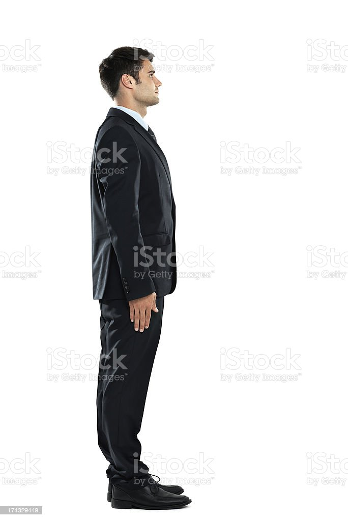 He's a standup businessman royalty-free stock photo