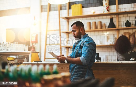 istock He's always making little tweaks to the business model 946138096