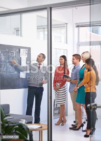 istock He's an inspiration to his team 504368209