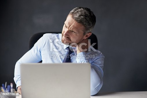 istock He's been in the office for a little too long 506516636