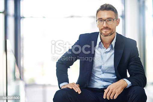 istock He's got a keen sense of business and style 540531500