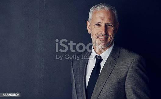 istock He's got all the attributes of a great CEO 615890804