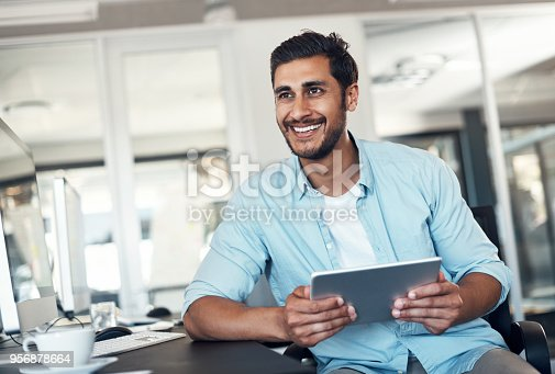 874813790 istock photo He's got big designs for the future of his business 956878664