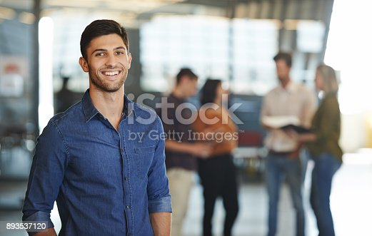 istock He's got exceptional creative talents to boast 893537120