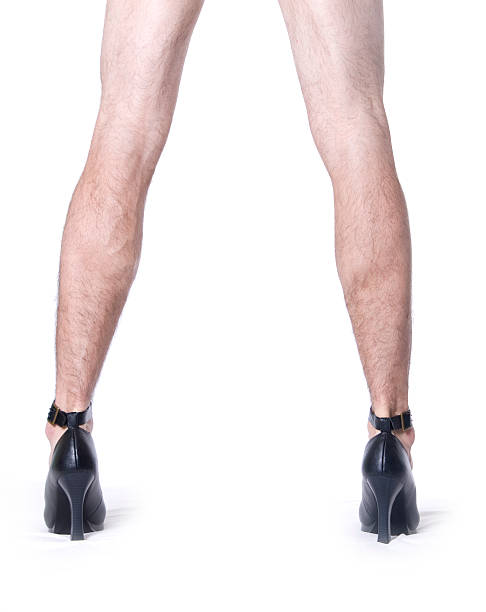 he's got legs - transvestite stock photos and pictures