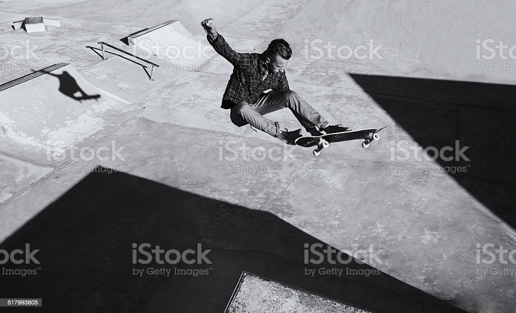 He's got skill stock photo