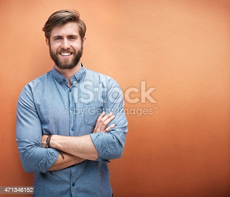istock He's got style and a great smile 471346152