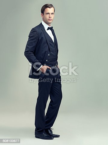 istock He's got style and class 508100677