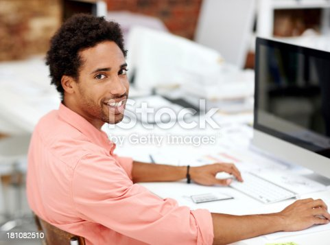 istock He's got the right attitude for success 181082510