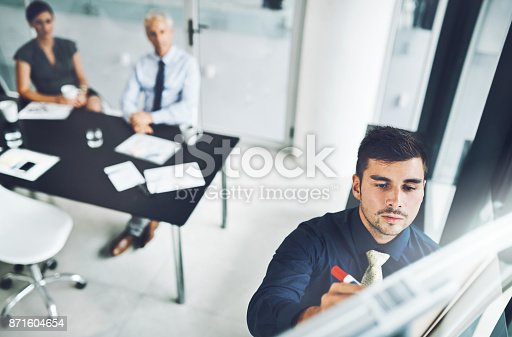 istock He's got their full attention 871604654