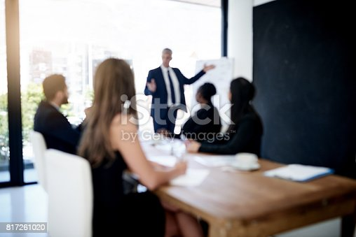 istock He's got their undivided attention 817261020