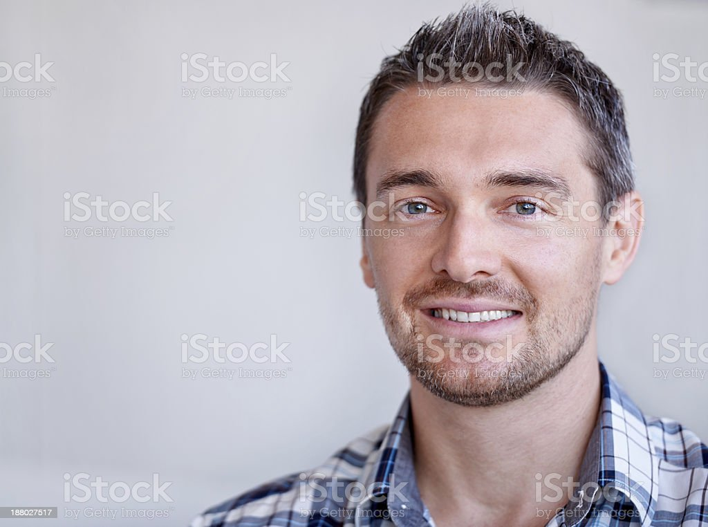 He's great to work with stock photo