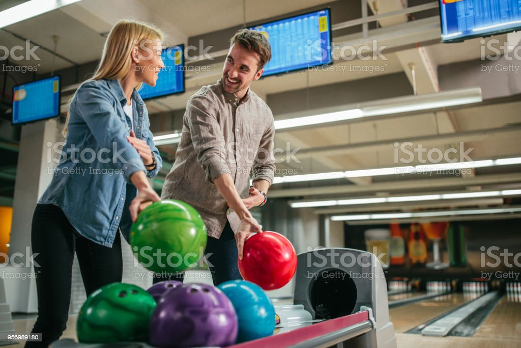 He's her favorite instructor stock photo