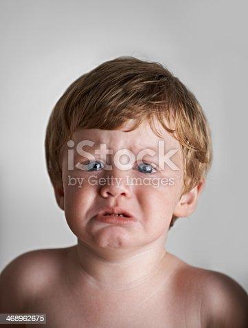 istock He's not a happy baby 468962675