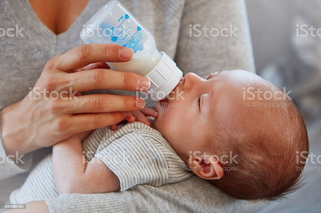 He's so content stock photo