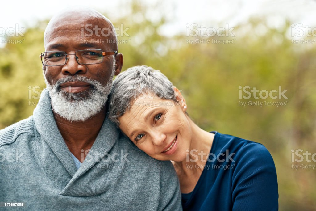He's still the person I fell in love with stock photo