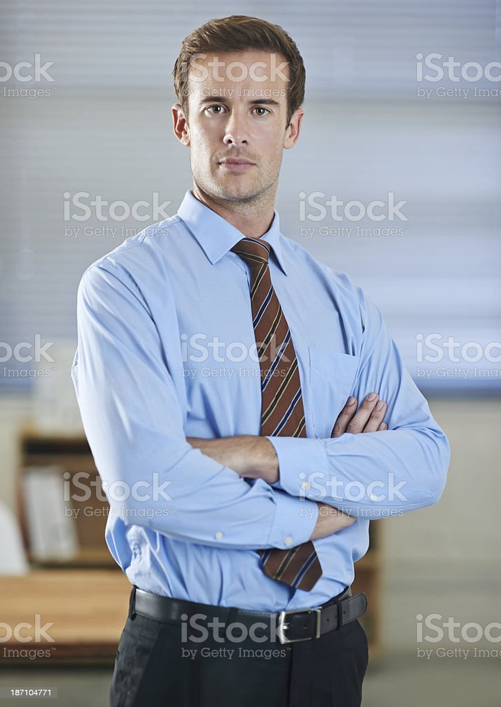 He's taking on the businessworld stock photo