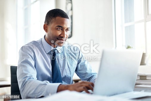 istock He's the best when it comes to business 691781934