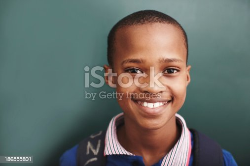 istock He's the bright star in his classroom 186555801