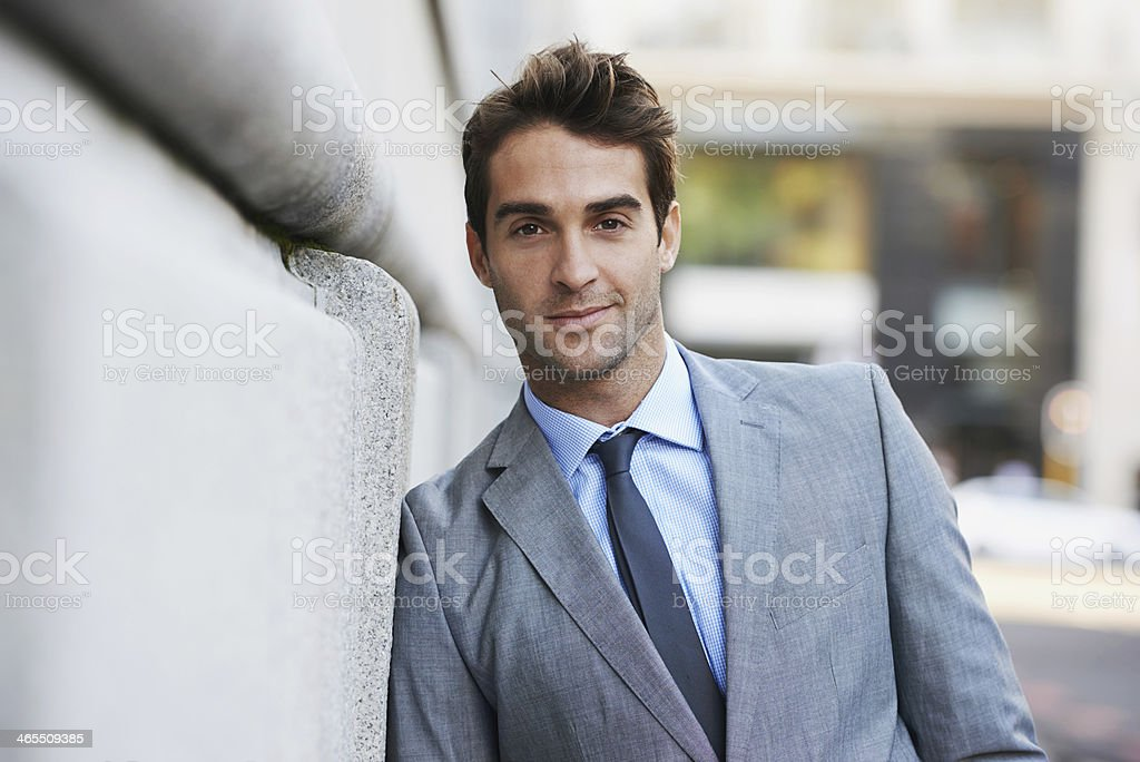 He's the epitome of a modern businessman royalty-free stock photo