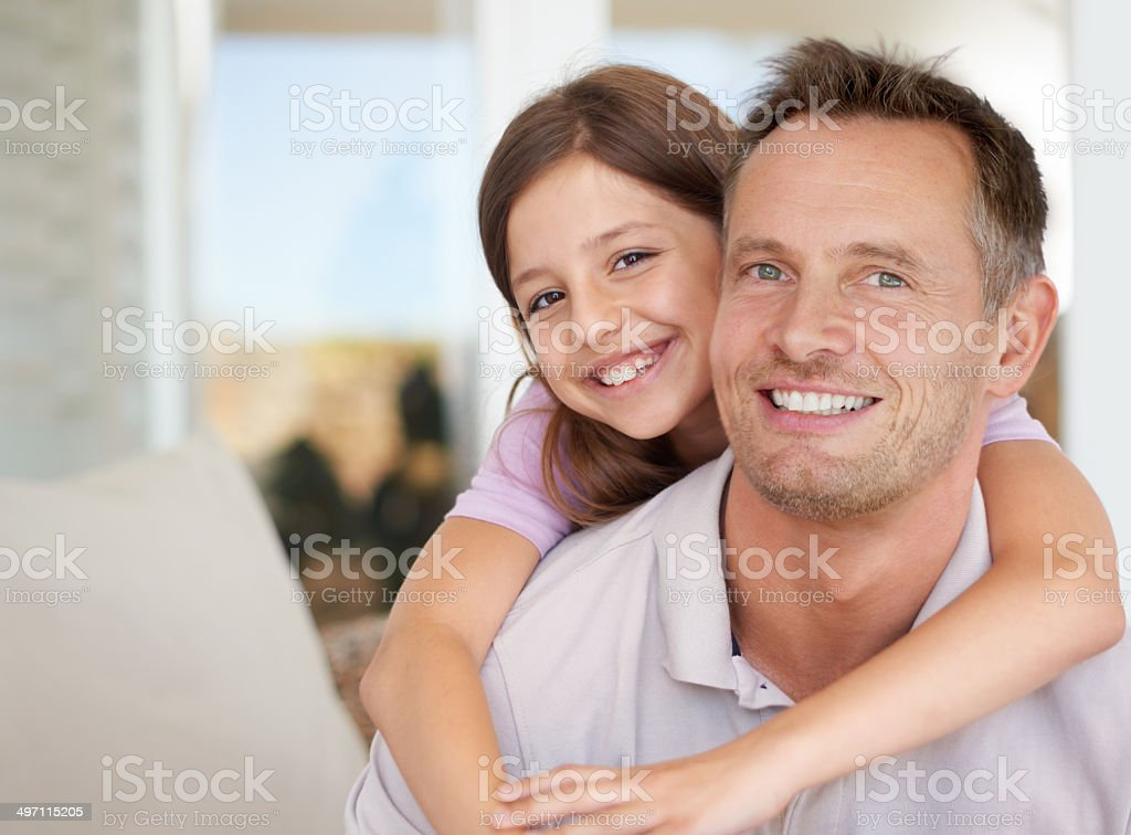 He's the only friend I need royalty-free stock photo