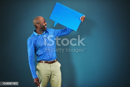1048561866 istock photo He's the voice of the people 1048561902
