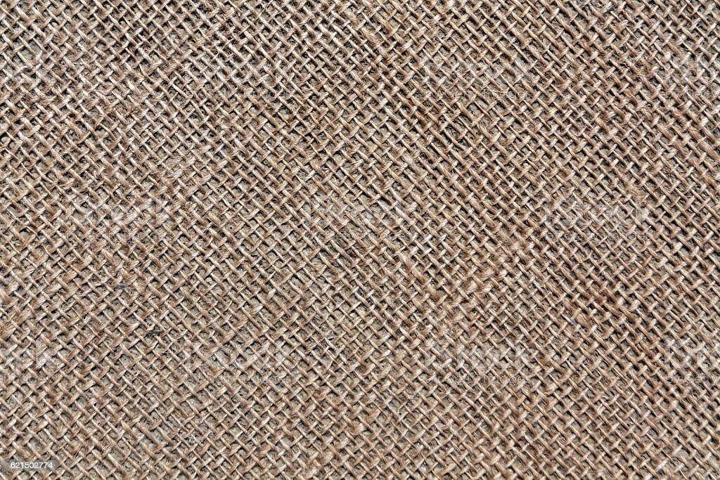 Hessian sack cloth texture. photo libre de droits